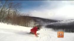 """""""Пятница за свой счет"""" - Вашингтон и лыжи"""