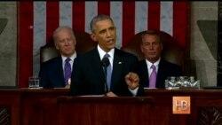 """Барак Обама: """"Кризис миновал и состояние страны крепкое"""""""
