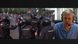 Незарегистрированный кандидат Митрохин – об акциях протеста в Москве