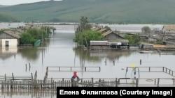 Затопленный поселок Балей