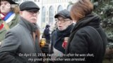Muscovites Read Out Names Of Stalin's Victims
