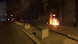 Художника Павленского задержали в Москве за поджог двери ФСБ