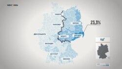 Как голосовала Германия. Выборная карта