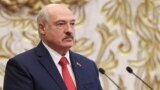 BELARUS -- Belarusian President Alyaksandr Lukashenka attends his inauguration ceremony at the Palace of the Independence in Minsk, September 23, 2020
