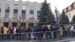 Выборы президента РФ в Праге: как это было