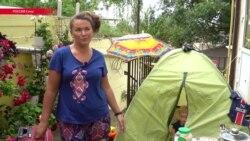 Сочинцы сдают болельщикам палатки во дворах за 500 рублей в сутки