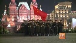 На Красной площади в Москве прошла репетиция парада к 70-летию Дня Победы