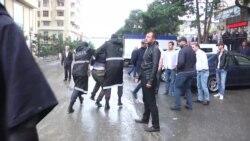 Задержания на митинге оппозиции в Баку