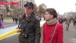 """Мурашки по коже"": в Киеве прошли два марша националистов"