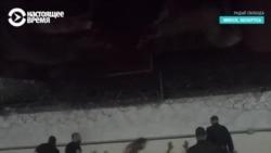 Видеозапись избиения задержанных в изоляторе на Окрестина