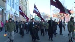 Балтия: легионеры СС в Риге и русские в Нарве