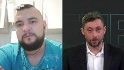 Интервью лидера стачкома МТЗ Сергея Дылевского после 25-дневного ареста