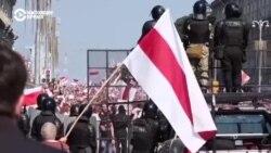 Мирный марш в Минске в день рождения Лукашенко: как это было