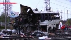 В России поезд врезался в автобус с гражданами Узбекистана и Казахстана, погибли 16 человек