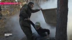 """Бойцы полка """"Азов"""" учат стрелять девятилетних украинских детей"""