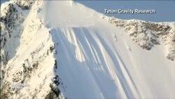 Skyfall с 500-метрового склона