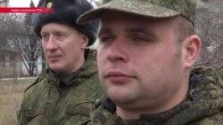 Российские офицеры покидают СЦКК в Донбассе