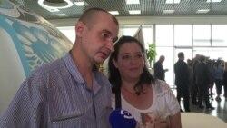 Четверо освобожденных украинских пленных вернулись в Киев
