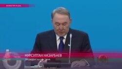 Назарбаев объявляет, что тенге поддерживаться не будет