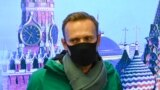 RUSSIA - Russian opposition leader Alexei Navalny is seen at Moscow's Sheremetyevo airport upon the arrival from Berlin on January 17, 2021