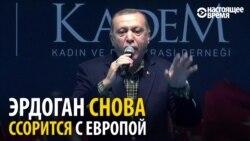 Агитация по-турецки: Эрдоган убеждает диаспору голосовать, убеждая, что в Европе фашисты