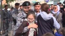 Задержания во время субботних митингов в Казахстане