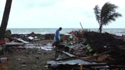 После извержения вулкана на Индонезию обрушилось цунами
