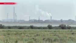 """От выбросов крымского завода """"Титан"""" также пострадало село в Херсонской области"""