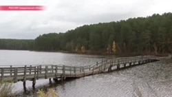 """Гнилой мост на """"большую землю"""": жители поселка на Урале боятся полностью оказаться в изоляции"""