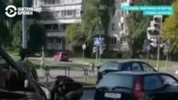 Стрельба в воздух и слезоточивый газ: протесты в Беларуси 20 сентября