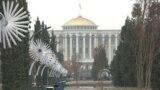 Tajikistan -- Kokhi Millat, presidential palace, Dushanbe city, 18Dec2020