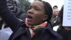 Беспорядки во время демонстрации в пригороде Парижа против полицейского насилия