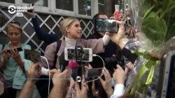 """""""Мы, москвичи, не сдаемся"""", – Любовь Соболь выступила на мирном шествии за свободные выборы"""