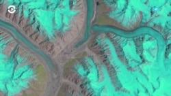 Детали: как спутники следят за таянием ледников