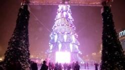 Харьков поставил рекорд по стоимости гирлянд главной елки города